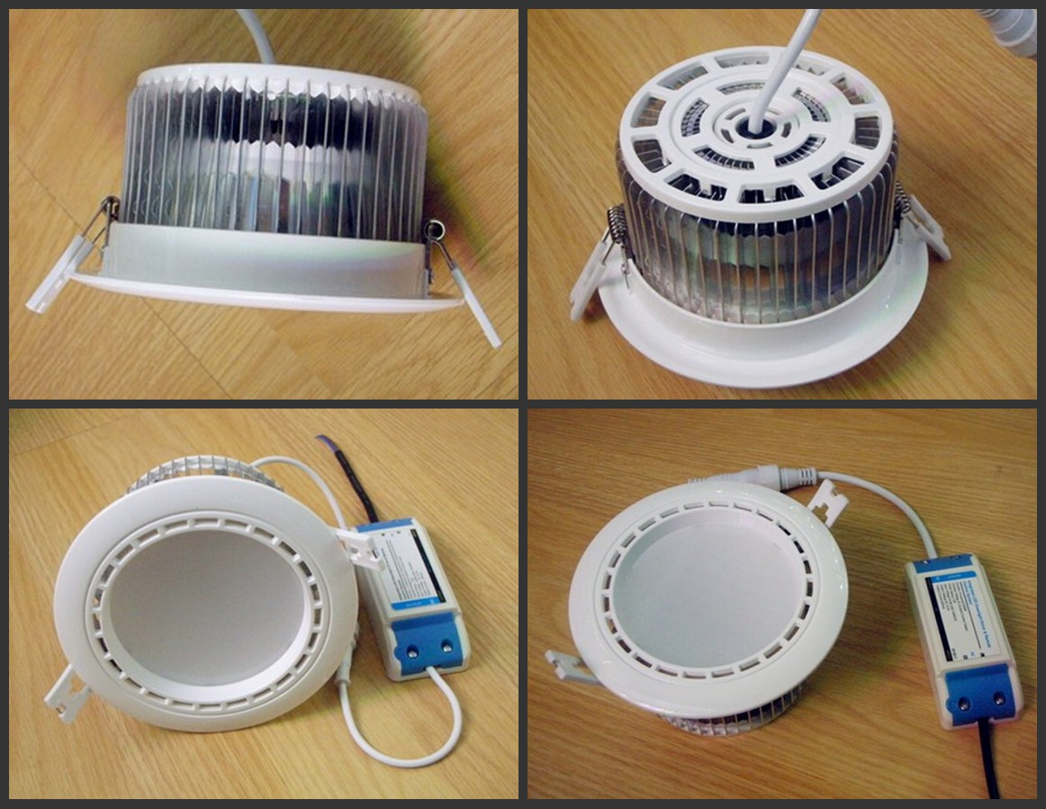 Do Led Ceiling Lights Need Transformers : Mi light series w rgbw downlight recessed led ceiling