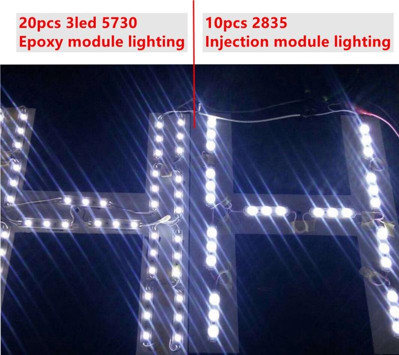 20pcs_2835_LED_Injection_lens_Modules_7