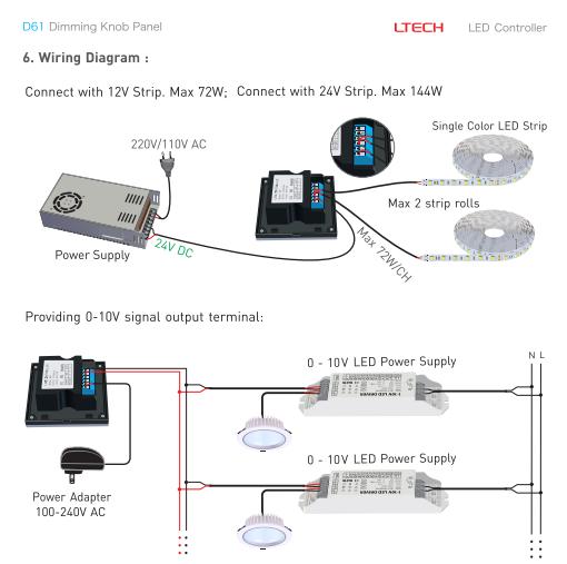 D61_Dimming_Knob_Panel_LTECH_Controller_3