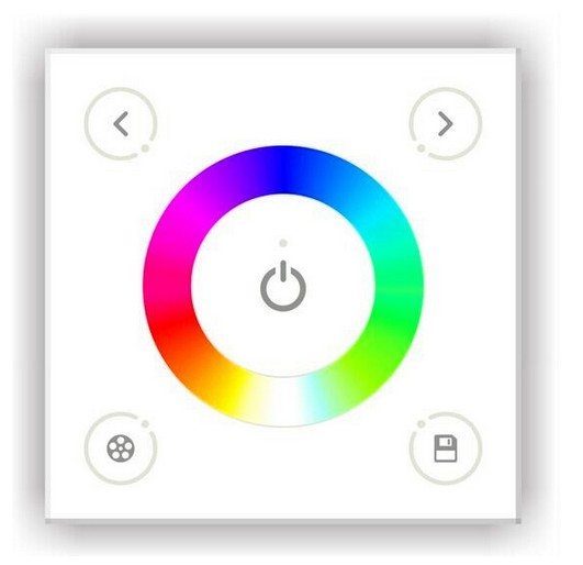 DX3_Wireless_RGB_Controller_Glass_Touch_Panel_DMX_RF_Console