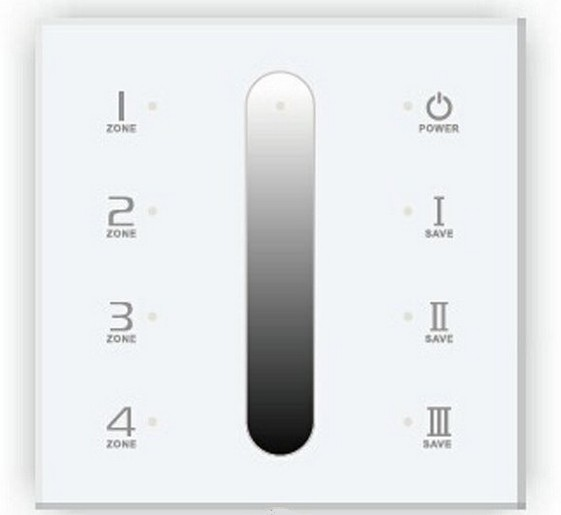 DX5_Wireless_LED_Controller_Dimming_Touch_Panel_Multi_Zone_Dimmer
