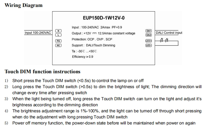 Euchips_Constant_Voltage_Dimmable_Drivers_EUP150D_1W12V_0_2