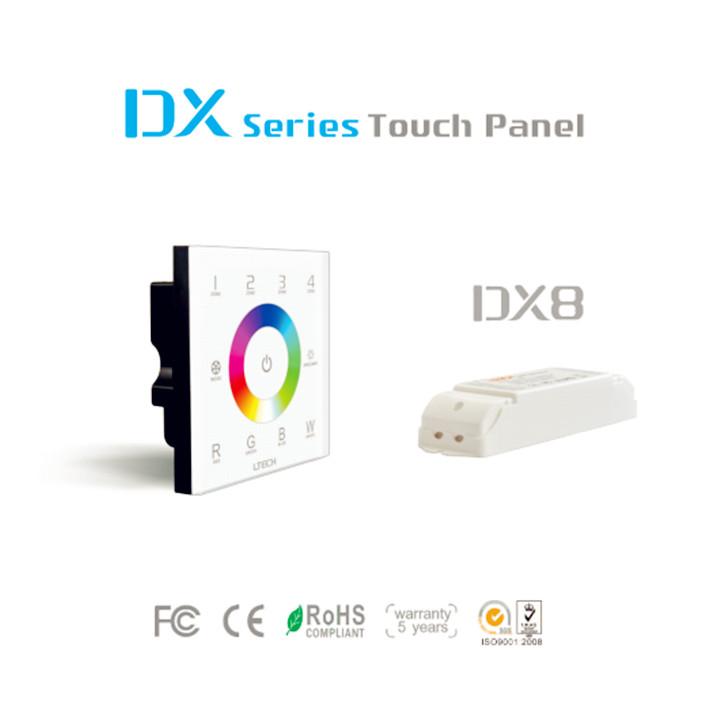 LTECH_DMX512_Master_Controller_DX8_1