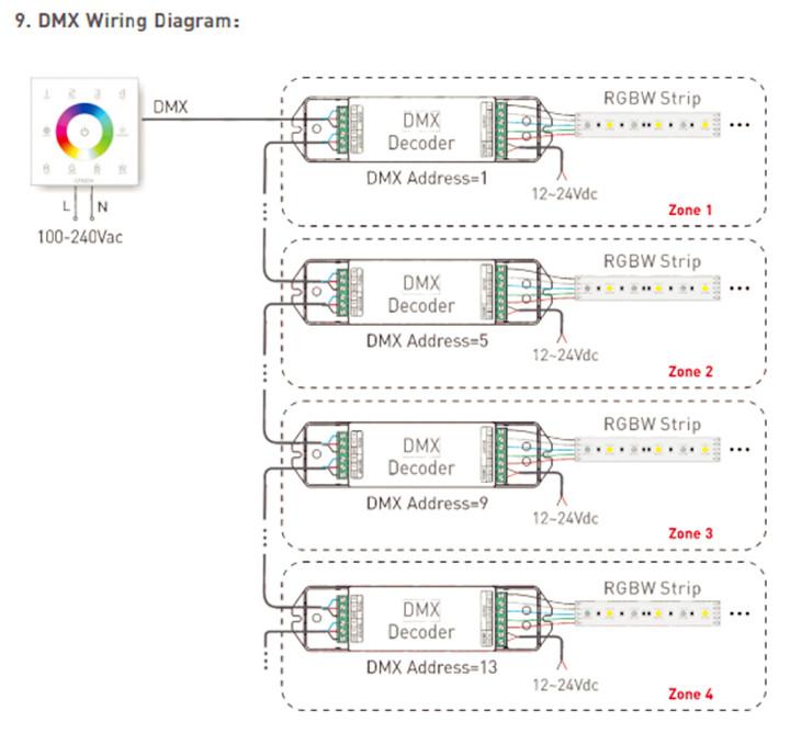 LTECH_DMX512_Master_Controller_DX8_6