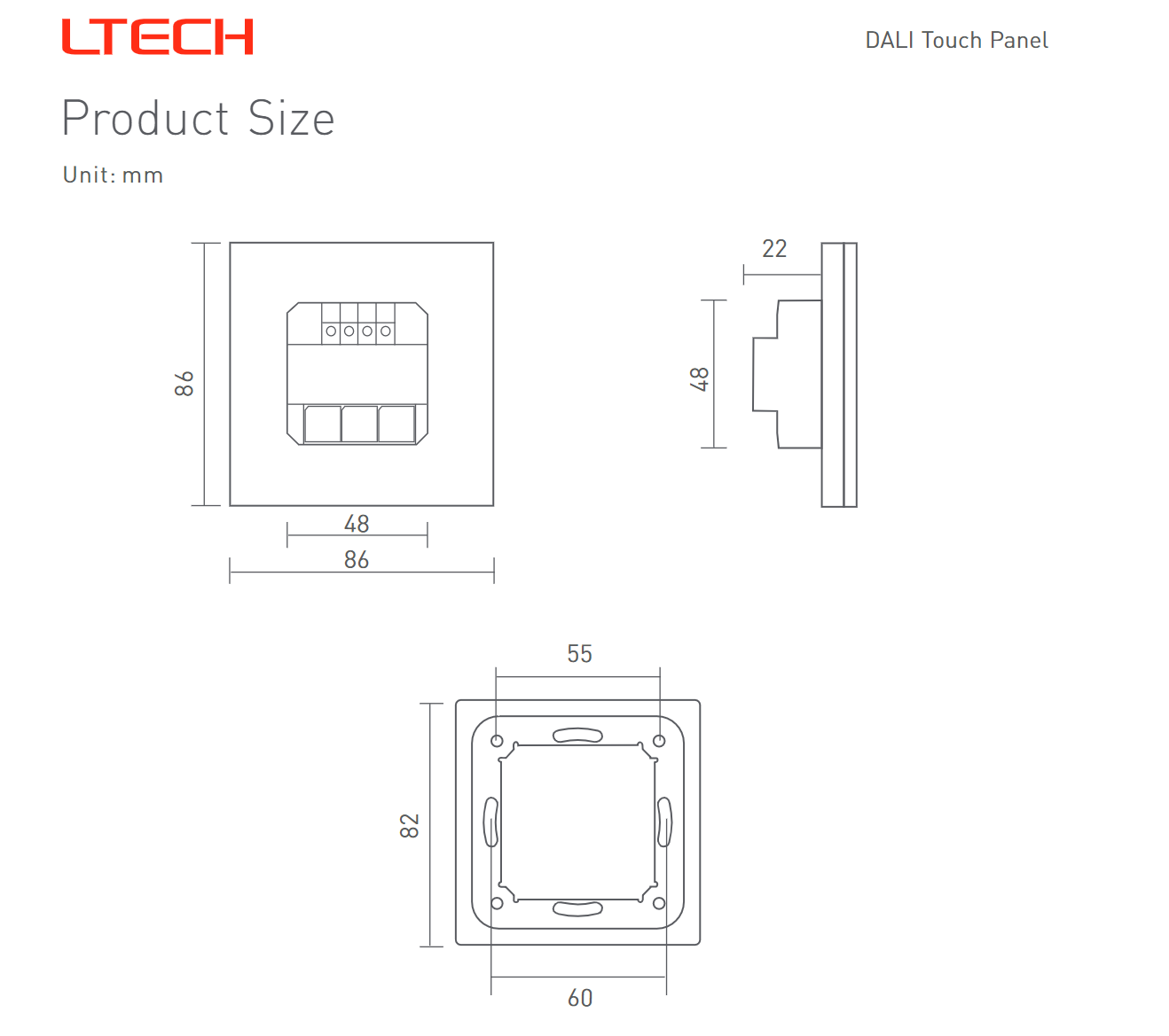 Ltech_EDT2_DALI_CT_Touch_Panel_Master_Led_Controller_4