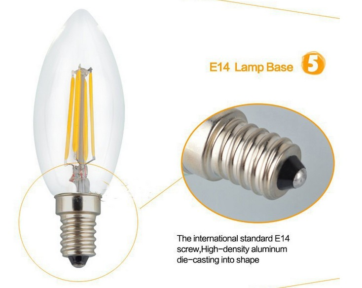 New_Design_2W_4W_E14_LED_Filament_Candle_Light_Bulb_CRI_90_Spotlight_lamps_wholesales_factory_supplier