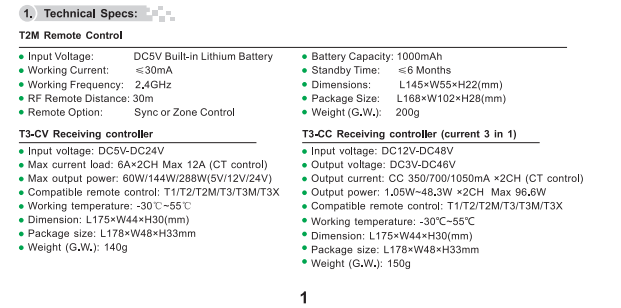 T2M_2.4G_LED_Touch_Controller_2