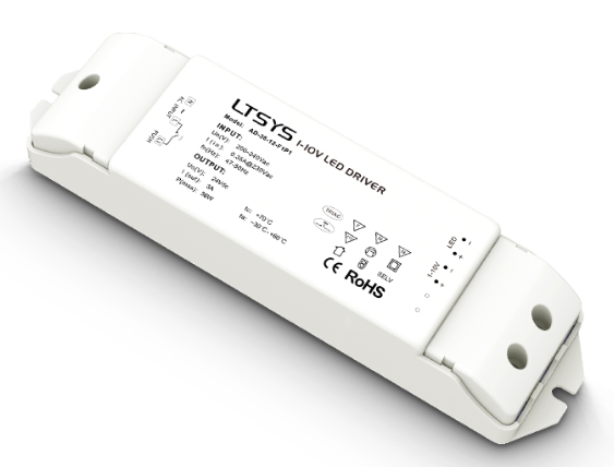 LTECH AD-36-12-F1P1 LED Intelligent Dimming Driver AC100-240V Input