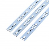 100 pcs 3.28 Feet 72LEDs/M SMD 5630 DC 12V LED Rigid Strip Light 12mm