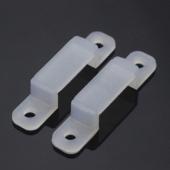 LED Strip Accessory Fix Clips For 3528 5050 LED Strip Lights 100Pcs