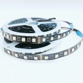 12 Volts 5050 Smd 4 in 1 Black Pcb Flexible RGBW LED Light Strip 60leds/M