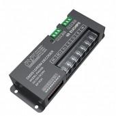 PX0408 12v 24v 8A 4CH DMX512 RDM RGBW Euchips Controller Decoder