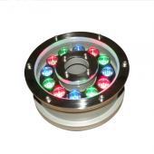 12W Aluminum LED fountain Lamp IP68 Underwater Swimming Pool light Pond Lighting