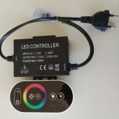 1500W 220V 110V RGB Full Touch LED Dimmer Controller with Remote