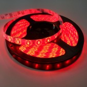 16.4Ft 300Leds SMD 5630 Waterproof Red LED Light Strip DC12V