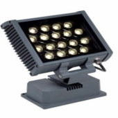 18W IP65 Waterproof RGB LED Spotlight Project Light DMX Floodlight