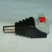 2.1mm Male Power Connector Barrel Style Plug 15Pcs
