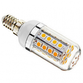 3Pcs 36 X Smd 5050 E14 5W White/Warm White Corn LED Ligh