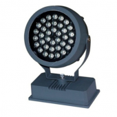 36W RGB DMX Round LED Project Light IP65 Spotlight Floodlight