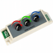 3A LED RGB Dimmer DC 12-24V LED Dimmer Controller