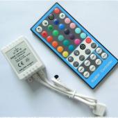 2Pcs 40 Key RGBW LED Controller 5 Pin RGBWW IR Controller