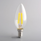 4W LED Filament Bulb Retro E14 E12 LED Candle lamp AC 110V 220V