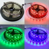 5050 RGB Flexible LED Strip Light 5 Meters 300 LEDs Non-waterproof