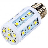 5Pcs 5050 Smd 5W 24 LEDs E27 Corn LED Lamp Energy Saving Bulb Lights