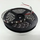 5050 SMD Black PCB LED Strip Light 5M 300 LEDs Waterproof 12V
