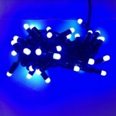 Blue Xmas LED Bullet String Lights 10m 100Leds Rice light 2Pcs