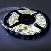 5 Meters White 3528 LED Flexible Strip Light 12V Waterproof 300 Leds