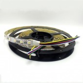 16.4 feet 300LEDs SMD 5050 RGB CCT LED Tape Light 5 in 1 Chip Strip