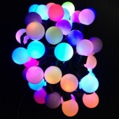 5M 50Leds Ball Shaped RGB String Light For Christmas Tree