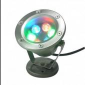 6W 6-LEDs High Power LED Underwater Light 12V RGB DownLights
