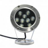 9W Fountain DownLights DC12V LED Underwater Light 9-LEDs