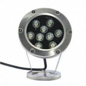 9W Fountain DownLights DC12V LED Underwater Light 9-LEDs