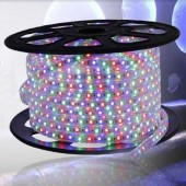 AC 220V RGB LED Strip Light SMD 5050 Waterproof Flex Tape 60Leds/m