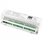 Bincolor BC-624-DIN 24CH DMX512 Decoder Driver Control Led Controller