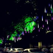 Christmas Decorative 30cm LED Meteor Lights 8 Tubes Snow Lamp
