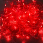 10M 100 LEDs Red String Lights For Christmas Decoration