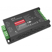 D4-S Skydance Led Controller 4CH*6A 12-24VDC CV DMX Decoder
