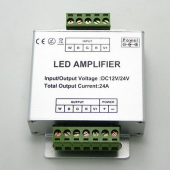 DC12/24V 24A LED Amplifier for RGBW LED Strip