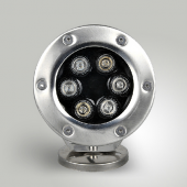 DC12V LED 6W Underwater Light 6-LEDs Fountain DownLights