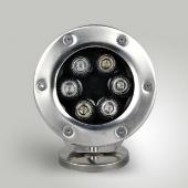 DC12V LED 6W Underwater Light 6-LEDs Fountain DownLights
