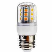 3Pcs Dimmable 4W 30LED 400LM SMD 5050 E27 LED Corn Light Bulb Lamp