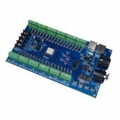 WS-DMX-36CH 5v-24v 12Groups Easy 36CH DMX512 XRL 3P Controller Decoder