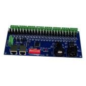 WS-DMX-CC-24CH 12-24v 8 Groups 24 Channel Dmx512 Decoder