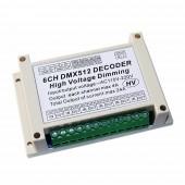 WS-DMX-DMXHV-6CH-KE Dimming HV 6ch LED Dimmer Dmx512 Decoder