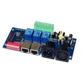 WS-DMX-RELAY-3CH-KA-BAN Dmx512 3P Relay Switch Rgb Decoder