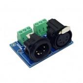 XLR5-3P Dmx512 Relays Connector